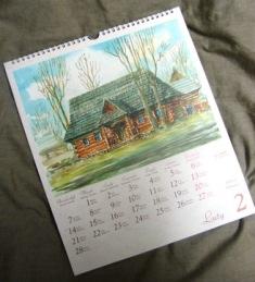 kartka z kalendarza luty 2011 rok