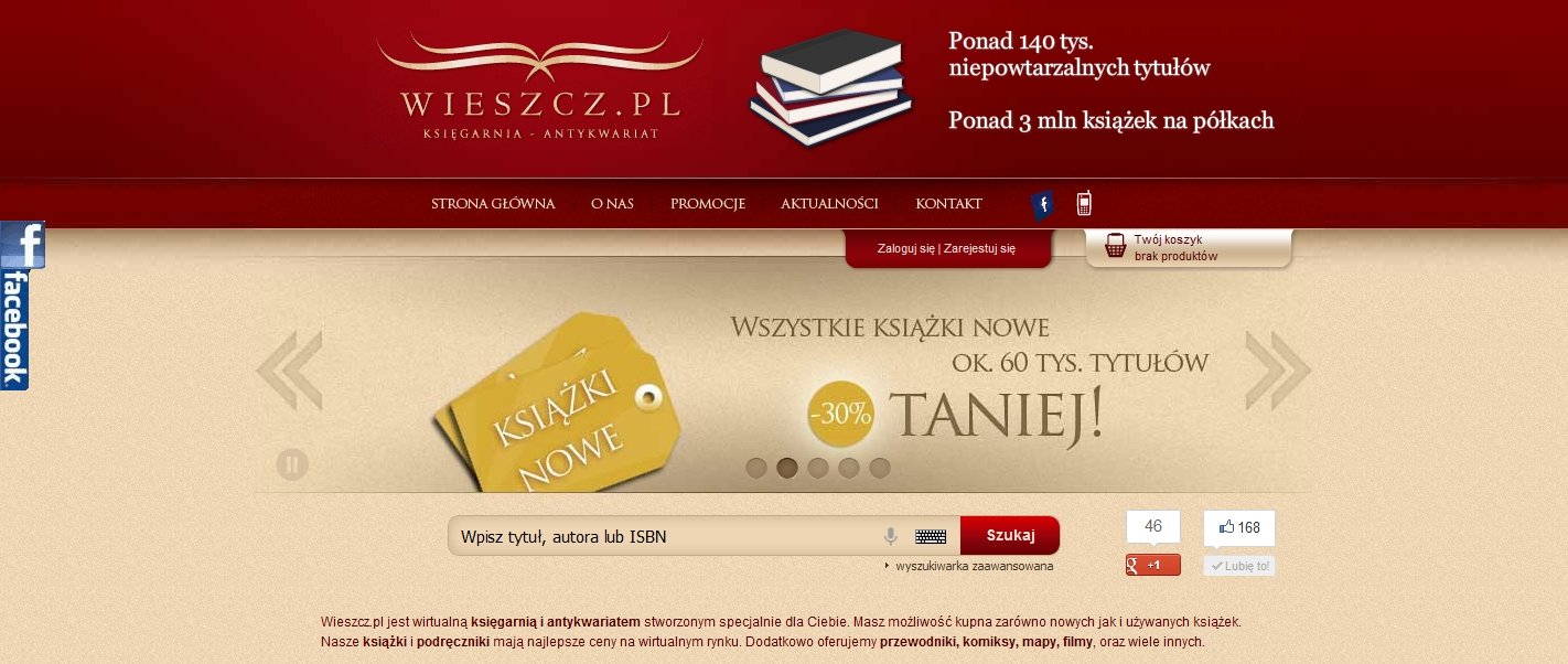 Nowa księgarnia wieszcz.pl